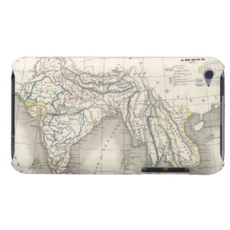 Vintage old world India Indian map print cool iPod Case-Mate Case