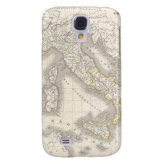 Vintage old world Italy map cool Italian foodie Galaxy S4 Case