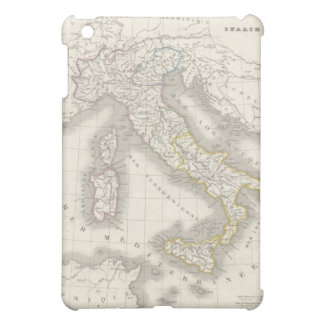 Vintage old world Italy map iPad Mini Cover