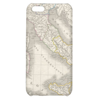 Vintage old world Italy map iPhone 4 case