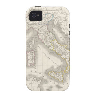 Vintage old world Italy map iPhone 4S case Case For The iPhone 4