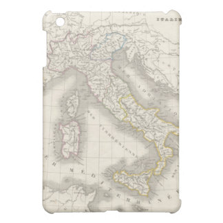 Vintage old world Italy map Italian foodie iPad Mini Cover