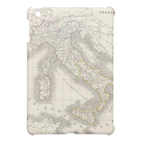 Vintage old world Italy map Italian foodie iPad Mini Cases