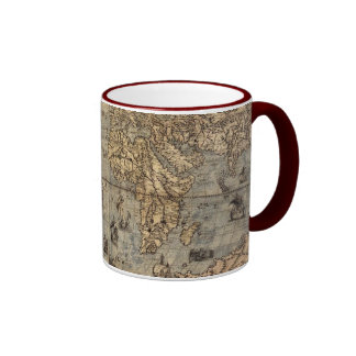 Vintage Old World Map Coffee Mug
