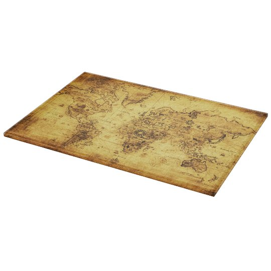 Vintage Old World Map for History-lovers Cutting Board
