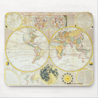 Vintage Old World Map History-lover Design Mouse Pad