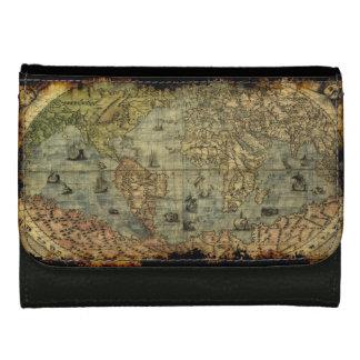 Vintage Old World Map History-lover Wallet