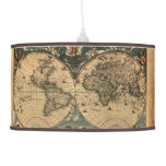 Vintage Old World Map History-lover's Gift Hanging Lamps