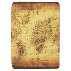 Vintage Old World Map Ipad Air Cover at Zazzle