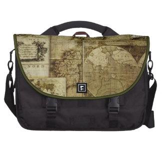 Vintage old world Maps Antique maps Bag For Laptop