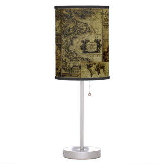 Vintage old world Maps Antique maps Table Lamp