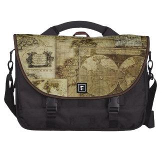 Vintage Old world maps Commuter Bags