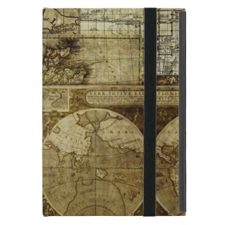 Vintage old world Maps Covers For iPad Mini