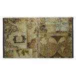 Vintage old world Maps iPad Case
