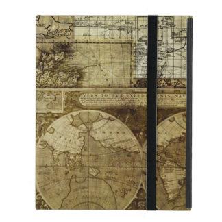 Vintage old world Maps iPad Folio Case