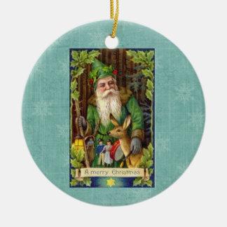 Vintage Ole Saint Nick Christmas Ornament