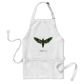 Vintage Oleander Hawk-moth Adult Apron