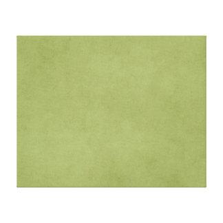 Vintage Olive Green Paper Parchment Background Canvas Print