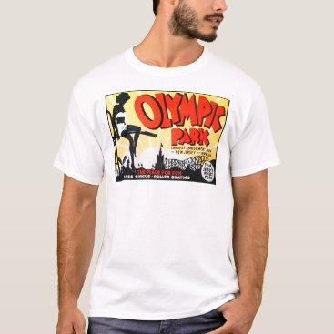"Valentines Themed Vintage ""Olympic Park"" Poster - Irvington, NJ T-Shirt"
