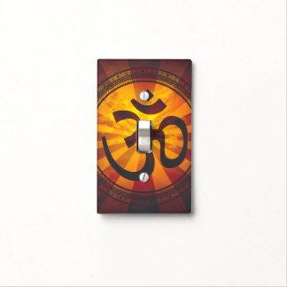 Vintage Om Symbol Light Switch Cover