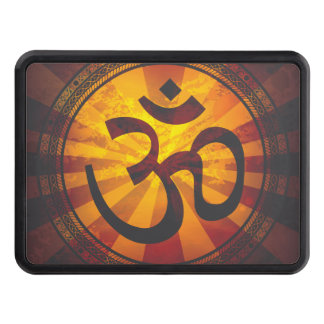 Vintage Om Symbol Tow Hitch Cover