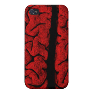 Vintage On The Brain  iPhone 4 Covers