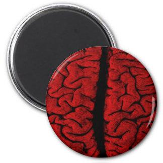 Vintage On The Brain Magnet