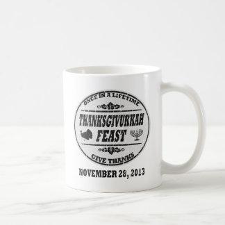 Vintage Once in a Lifetime Thanksgivukkah Coffee Mug