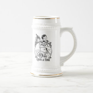 Vintage Once Upon a Time Apparel, Decor, and Gifts Beer Stein