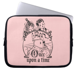 Vintage Once Upon a Time Apparel, Decor, and Gifts Computer Sleeve