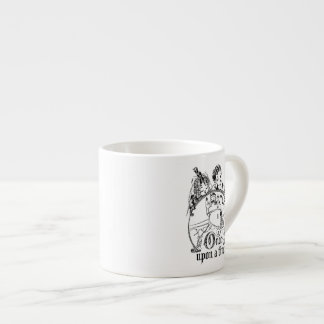 Vintage Once Upon a Time Apparel, Decor, and Gifts Espresso Cup