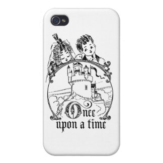 Vintage Once Upon a Time Apparel Decor and Gifts iPhone 4/4S Covers