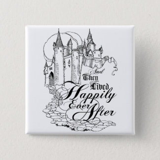Vintage Once Upon a Time Apparel, Decor, and Gifts Pinback Button