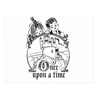 Vintage Once Upon a Time Apparel, Decor, and Gifts Postcard
