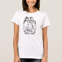 Vintage Once Upon a Time Apparel, Decor, and Gifts T-Shirt
