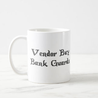 Vintage Online Gaming Vendor Buy Bank Guards Classic White Coffee Mug