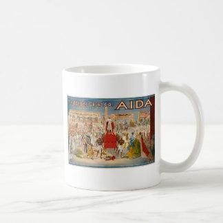 Vintage Opera Aida Artwork Coffee Mug