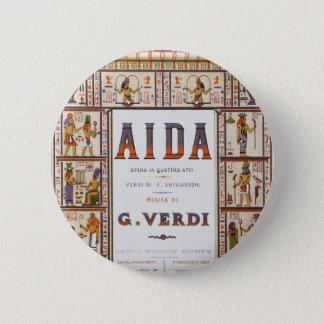 Vintage Opera Music, Egyptian Aida by Verdi Button