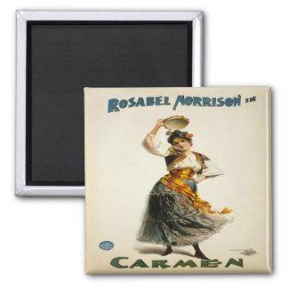 Vintage Opera Poster Magnet