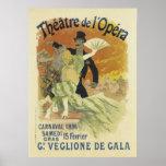 Vintage Opera Posters - Theatre de l'Opera