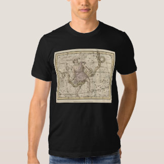 Vintage Ophiuchus Constellation Zodiac T-shirt