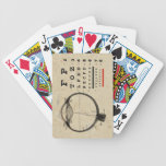 Vintage Ophthalmologist Bicycle Playing Cards