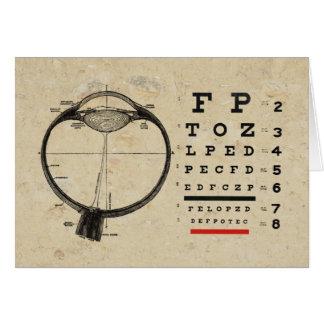 Vintage Ophthalmologist Greeting Card