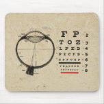 Vintage Ophthalmologist Mouse Pad