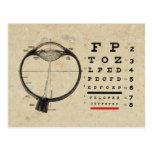 Vintage Ophthalmologist Postcard