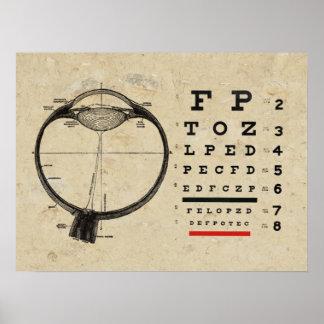 Vintage Ophthalmologist Poster
