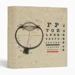 Vintage Ophthalmologist Vinyl Binders