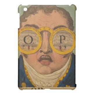 Vintage Optical Glasses Ephemera iPad Case