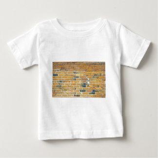Vintage Orange Brick Wall Texture Baby T-Shirt