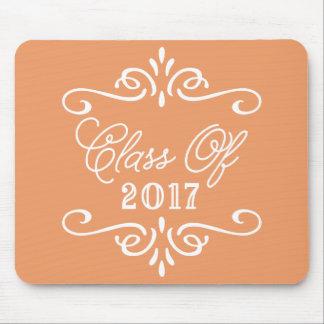 Vintage Orange | Graduation Mouse Pad